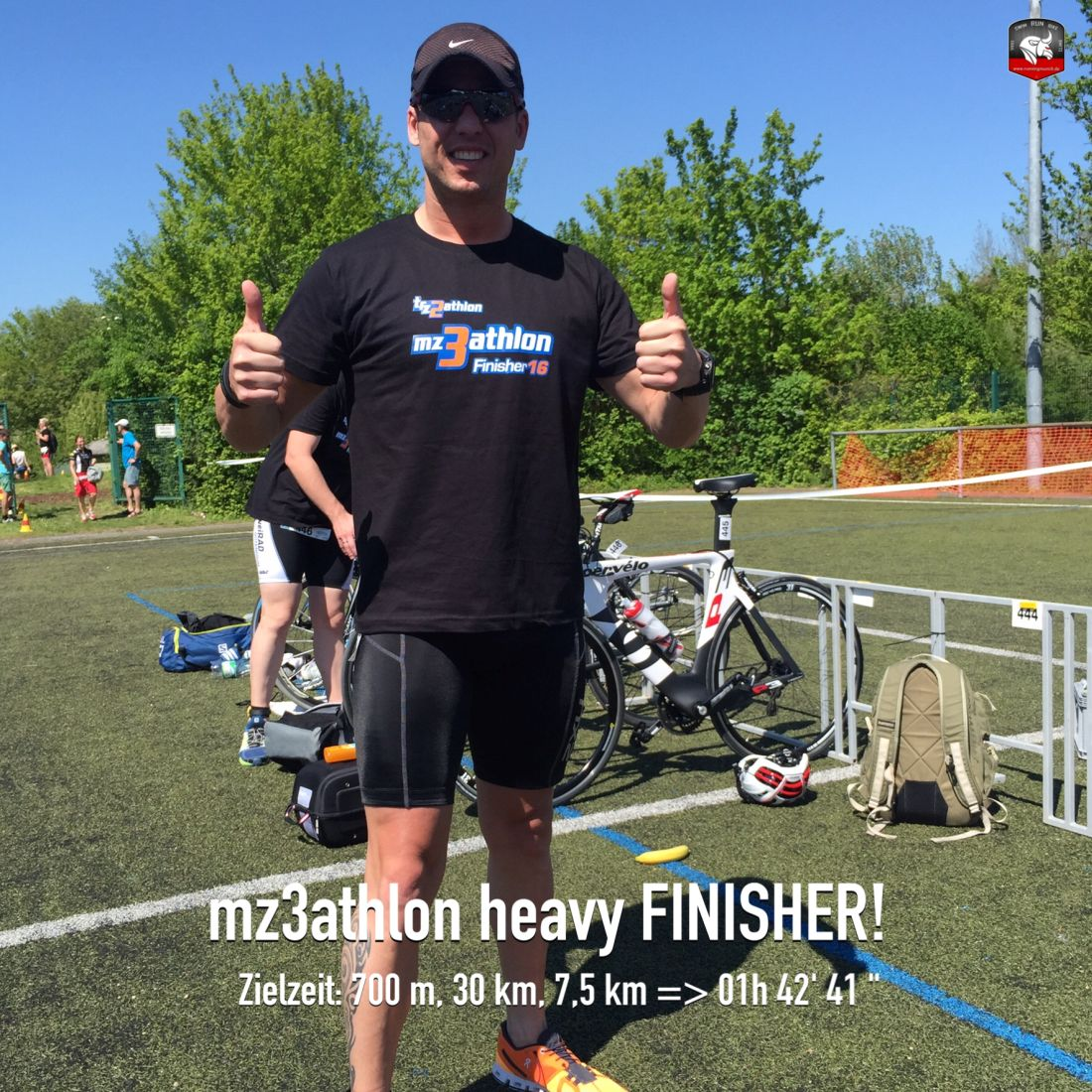mz3athlon heavy Triathlon 2016 Finisher