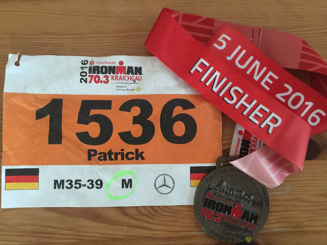 IRONMAN 70.3 Kraichgau Finisher